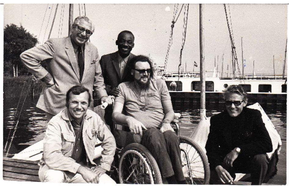 Kenny Clarke op Loosdrecht Festival 1971